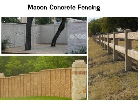 Macon Precast Fencing