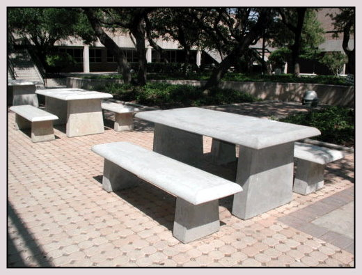 5 Rectangular Table With Benches