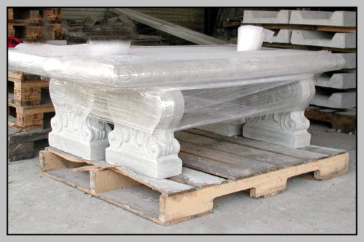 8 Ornate Benches