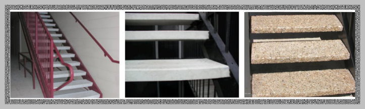 Commercial Precast Stair Treads